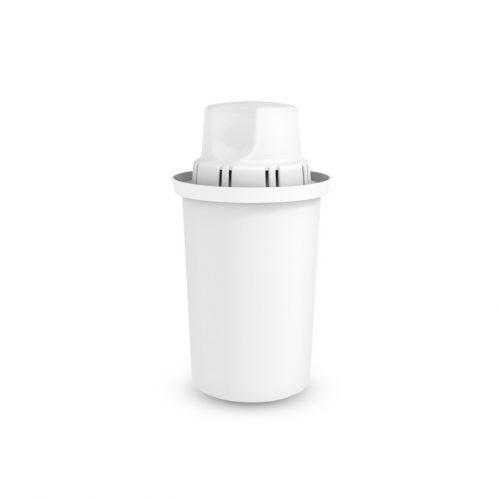 Универсален висок филтър, който пречиства ефективно 150 литра вода на месец. С 5 степенна филтрираща система, съдържащ филтърна смес от йонообменна смола и от активен въглен, обработен със сребърни йони.