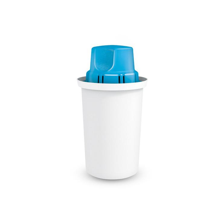 Универсален висок филтър, който пречиства ефективно 150 литра вода на месец. Обогатява водата на магнезиеви йони, добавяйки 30 мг магнезий във всеки пречистен литър.