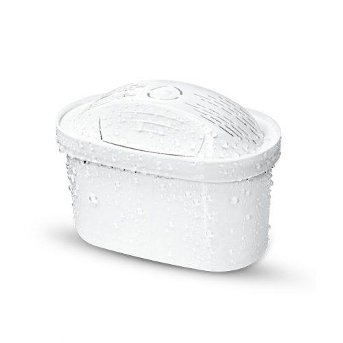 Универсален широк филтър, който пречиства ефективно 200 литра вода на месец. С 5 степенна филтрираща система, съдържащ филтърна смес от йонообменна смола и активен въглен, обработен със сребърни йони.