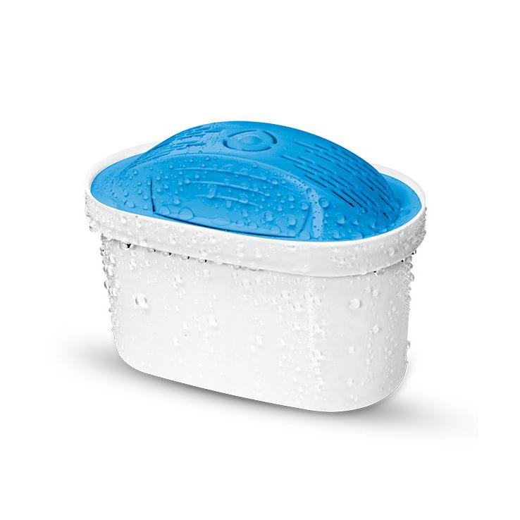 Универсален широк филтър за вода Dafi Mg+ Unimax за ефективно пречистване на 200 литра вода на месец. Обогатява водата на магнезиеви йони, добавяйки 30 мг магнезий във всеки пречистен литър.