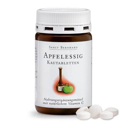 Ябълков оцет с витамин С, 120 таблетки за дъвчене