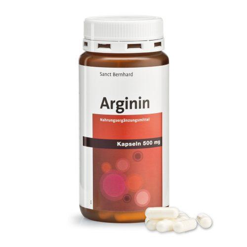 Аргинин 500 мг, 150 капсули