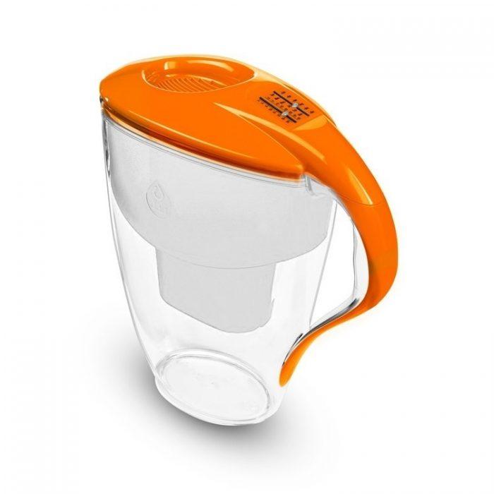 Кана за пречистване на вода Dafi Astra Unimax 1.5+1.5 L Оранжева
