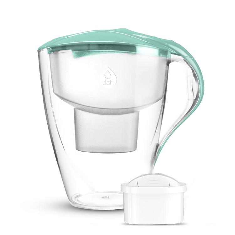 Кана за пречистване на вода Dafi Astra Unimax 1.5+1.5 L Мента